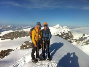 Summit of Athabasca