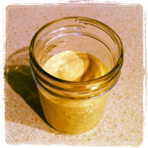 Tofu mayonnaise made from scratch