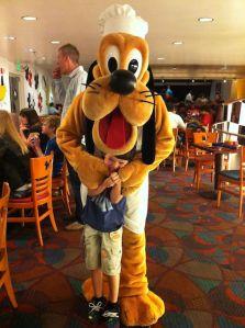 Pluto and Ian