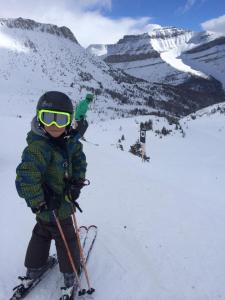 Double Black run at Lake Louise