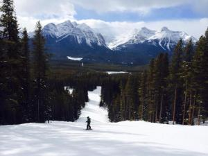 Black run at Lake Louise